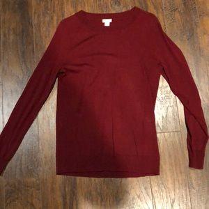 Merlot Jcrew Sweater